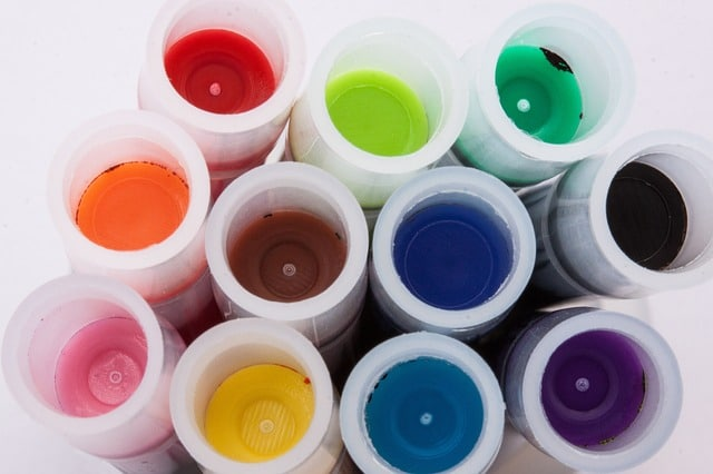 transport peinture encre colorant