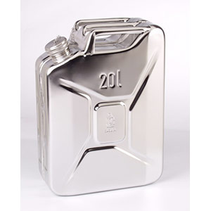 Jerrycans inox ek20 20 litres