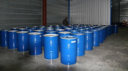 futs metalliques pour transport miel