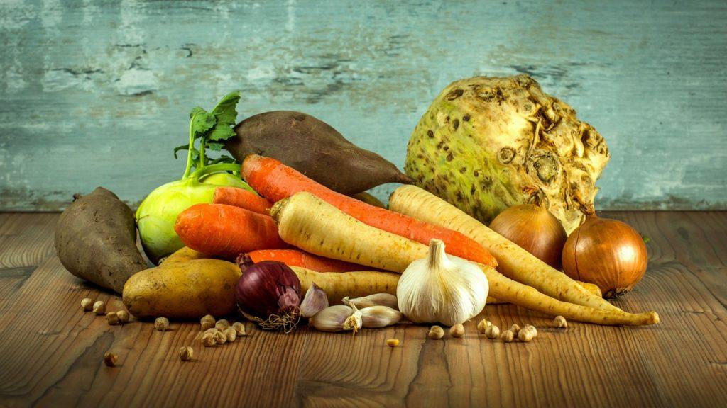 Légumes issus du secteur agroalimentaire