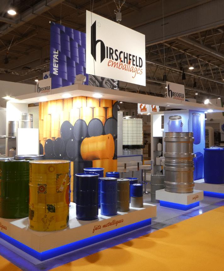 Hirschfeld Emballages, fournisseur de fût et IBC inox metal plastique
