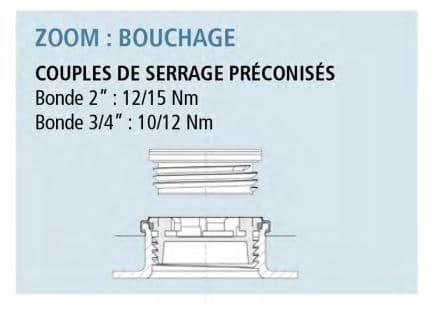 Bouchage bidon plastique 30L DTN