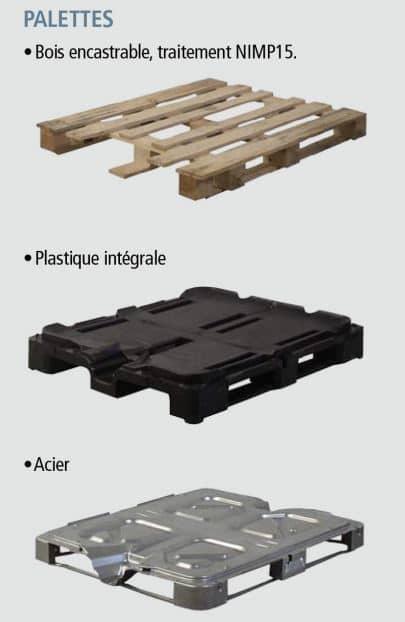 Palette Cuve IBC SLX