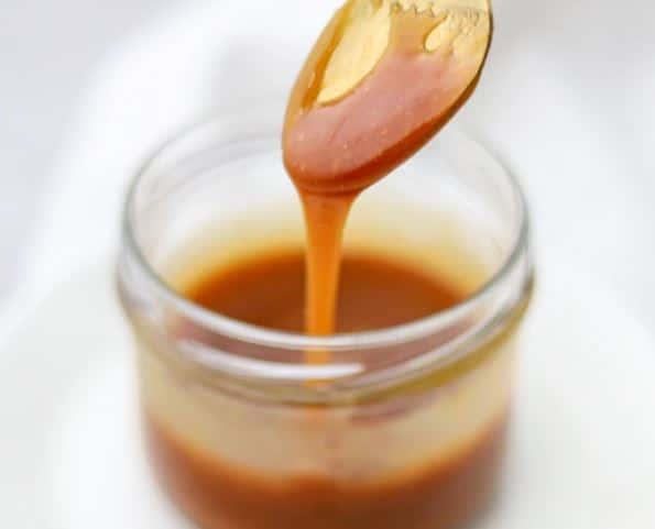 Produits pâteux caramel