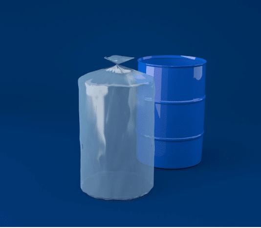 sache plastique fond rond soudé