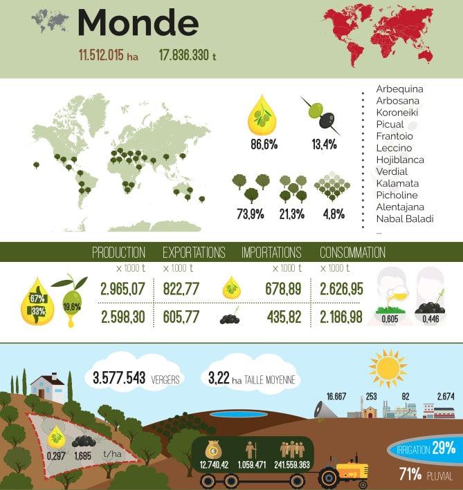 statistiques huile d'olive 2021
